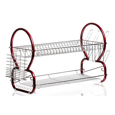 Sleek Stainless Steel Dish Rack