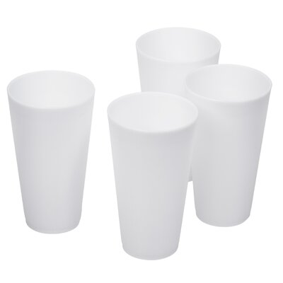 Bright Plastic 16 oz. Tumbler Cups MW2461