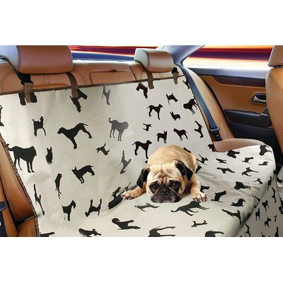 Puppy Print Dog Car Seat Sofa Slipcover