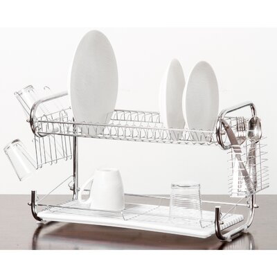 Organizer 2 Tier Holder Drainer Dish Rack ID02241IA