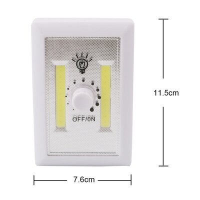 LED Dimmer Switch Night Light