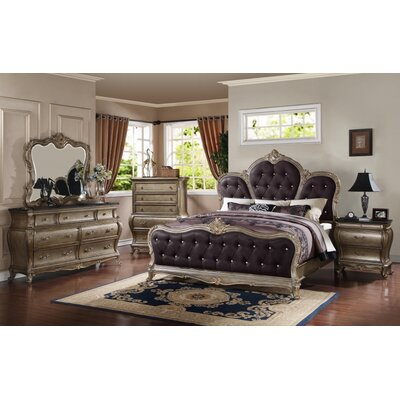 Moreno Panel Configurable Bedroom Set