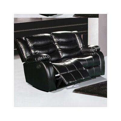 644BL-L MRUS1049 Meridian Furniture USA Reclining Loveseat
