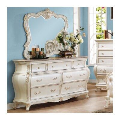 Horne 7 Drawer Dresser with Mirror