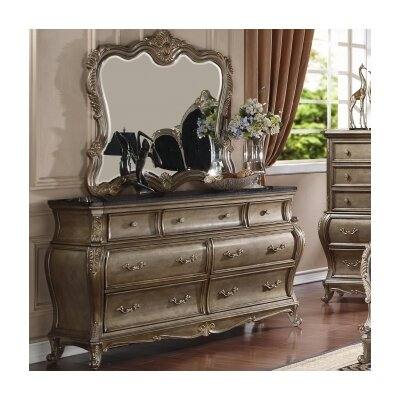 Moreno 7 Drawer Dresser with Mirror