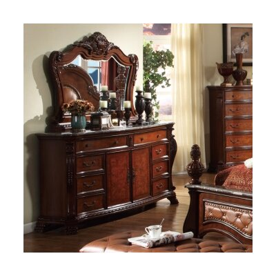Berna 8 Drawer Combo Dresser with Mirror ATGD2060