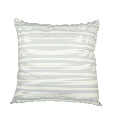Boehmer Pinpoint Stripe Cotton Throw Pillow