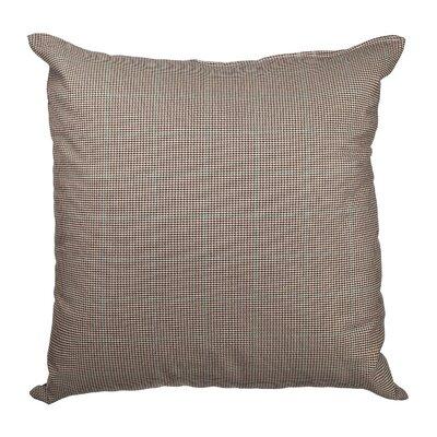 Ithaca Glenplaid Cotton Throw Pillow Color: Brown