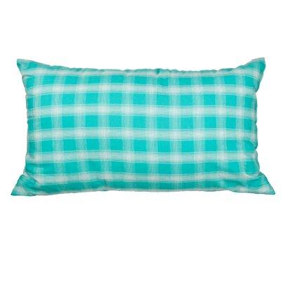 Touchette Plaid Cotton Lumbar Pillow