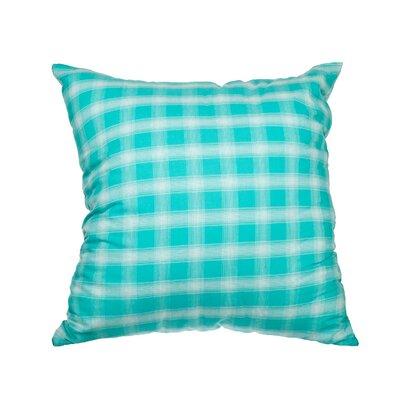 Touchette Plaid Cotton Throw Pillow