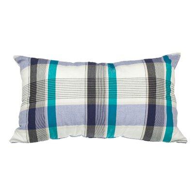 Touchette Patchwork Plaid Cotton Lumbar Pillow