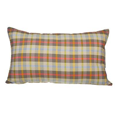 Touchette Winston Plaid Cotton Lumbar Pillow