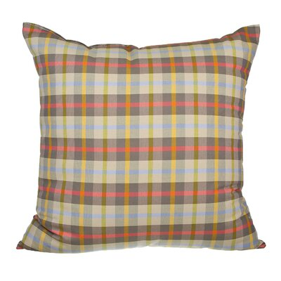 Touchette Winston Plaid Cotton Throw Pillow
