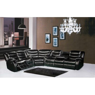 644BL-S / 644BR-S / 644BURG-S Meridian Furniture USA Sectionals