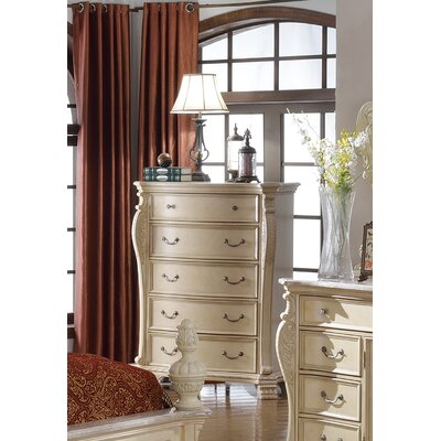 Poirier 5 Drawer Chest