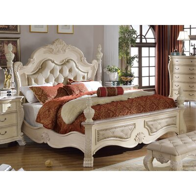Poirier Upholstered Panel Bed Size: Queen