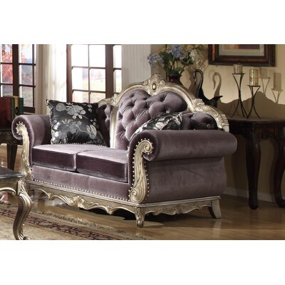 Meridian Furniture USA 653 L Roma Loveseat
