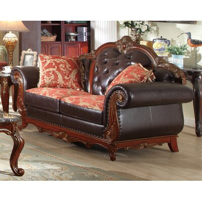 Meridian Furniture USA 654 L Bellini Loveseat
