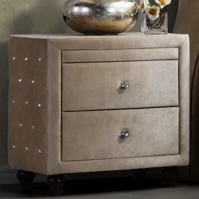 Sweeney 2 Drawer Nightstand