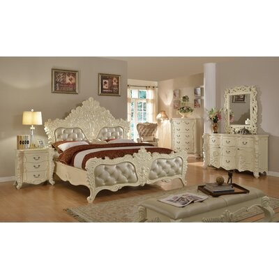 Miller Panel Customizable Bedroom Set