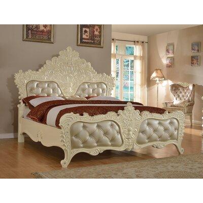Miller Upholstered Platform Bed Size: King