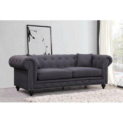 Garrett Sofa Upholstery: Grey