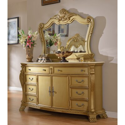 Lavish 8 Drawer Combo Dresser