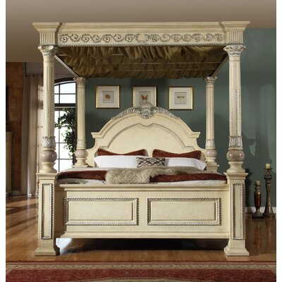 Amber Canopy Bed Size: Queen