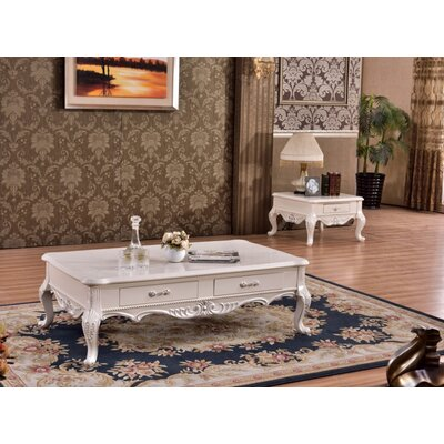 Roda 2 Piece Coffee Table Set