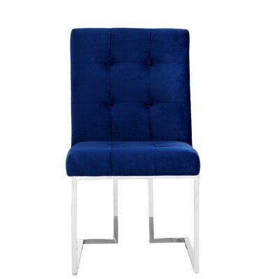 Hartford Velvet Parsons Chair