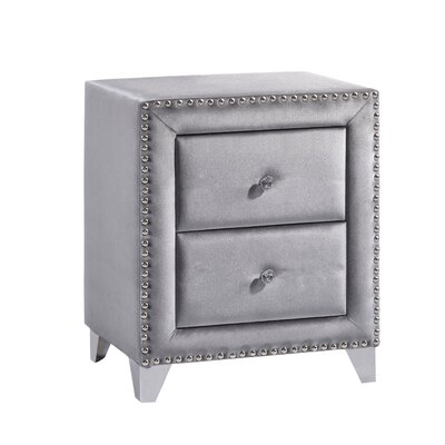 Spence 2 Drawer Nightstand