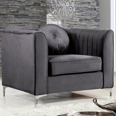 Herbert Armchair Upholstery: Gray