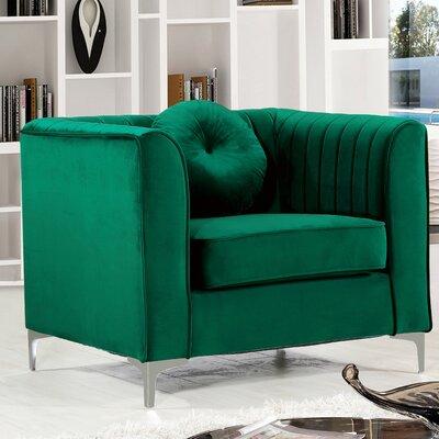 Herbert Armchair Upholstery: Green