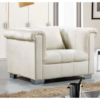 Henriette Armchair Upholstery: Cream