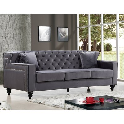 Honore Sofa Upholstery: Gray
