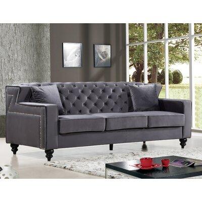 Mooney Sofa Upholstery: Gray