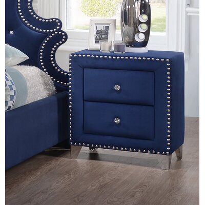 Malone 2 Drawer Nightstand