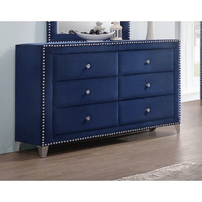 Malone 6 Drawer Double Dresser