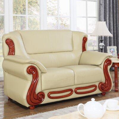 Adaline Loveseat Upholstery: Khaki