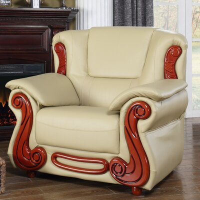 Adaline Club Chair Upholstery: Khaki