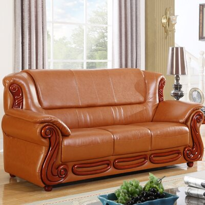Adaline Sofa Upholstery: Cognac