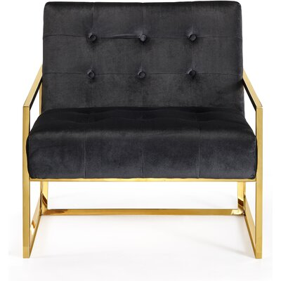 Jani Armchair Upholstery: Black
