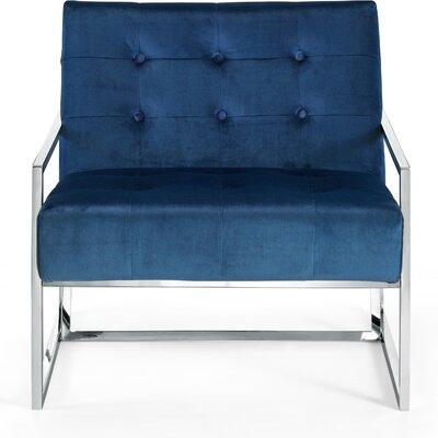 Ronni Armchair Upholstery: Navy