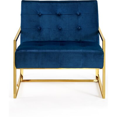 Jani Armchair Upholstery: Navy