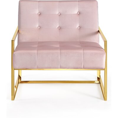 Jani Armchair Upholstery: Pink
