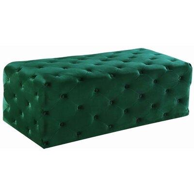 Paz Ottoman Upholstery: Green