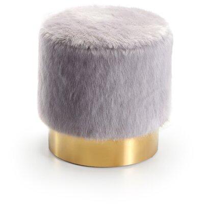 Martin Pouf Upholstery: Gray