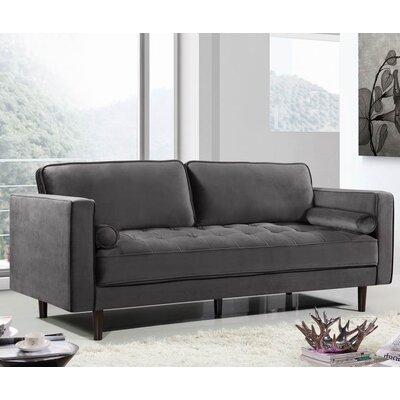 Pamula Sofa Upholstery: Gray