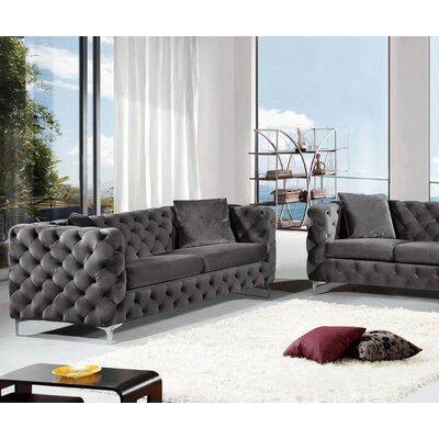 Patrina Sofa Upholstery: Gray