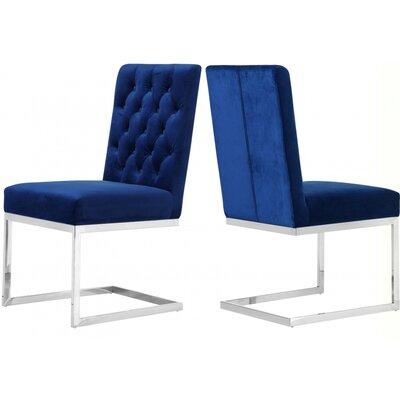 Astor Velvet Side Chair